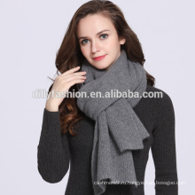 Плюс-Размер женщины/мужчины зима сплошной цвет утолщение вязаный шарф кашемира