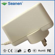 Adaptador de energia de 18 watts / 18W com pin AC Austrália para dispositivos móveis, Set-Top-Box, impressora, ADSL, áudio e vídeo ou eletrodomésticos