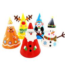 Новогодние украшения новогодние поделки из бумаги шляпа дети раннего обучения