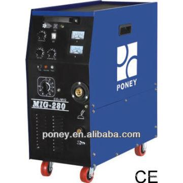 CE gas & no gas dc mig 180/200 / 250A modèle C / machine industrielle / machine à souder portative compétitive prix / soudure