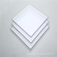 Kunststoff Innentüren Polycarbonat solide klare Platte