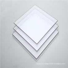 Puertas interiores de plástico Panel transparente sólido de policarbonato