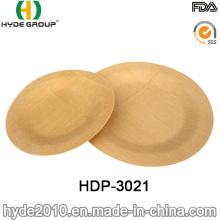 2016 heiße Verkäufe biologisch abbaubare Einweg Bambusfaserplatte (HDP-3021)