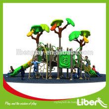 China Wenzhou Kommerzielle Kinder Spiele Plastic Outdoor Spielplatz Ausrüstungen zum Klettern
