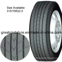 Radial Truck Tyre with DOT/ECE/Inmetro Certificate (315/70R22.5)