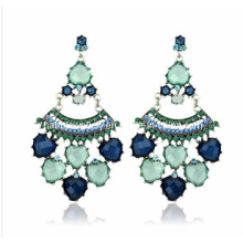 Trendy Bohemia Style Resin Stone Earring (XER13096)