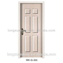 Modern wood door design,MDF wood door/Melamine interior door