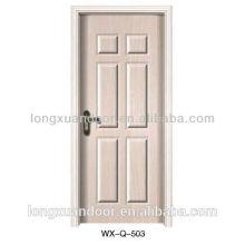 Design moderno da porta de madeira, porta de madeira MDF / porta interior de melamina