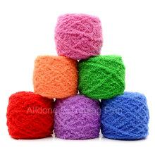 Tejer a mano el ganchillo tejer Fancy Wool Coral Velvet bebé acrílico hilado