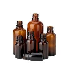 Natural Bamboo Lid Eye Dropper glass Essential Oil Bottles