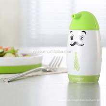 Öl- und Essigflasche mit Silikondeckel
