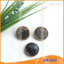 Combine Button Coat Botão Botões de tecido BM1254