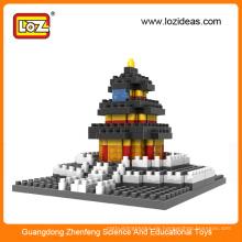 Tempel des Himmels Diamant Block Spielzeug für Kinder