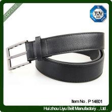 Wide pu belt split pu coated leather for belts