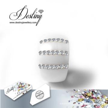 Destiny Jewellery Crystals From Swarovski Ring New Ceramics Rings