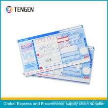 Wasserdichte NCR Papier Logistik Luft Frachtbrief