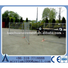 6ft x9.5ft Construction Temporary Fence Canada(Factory&ISO9001)