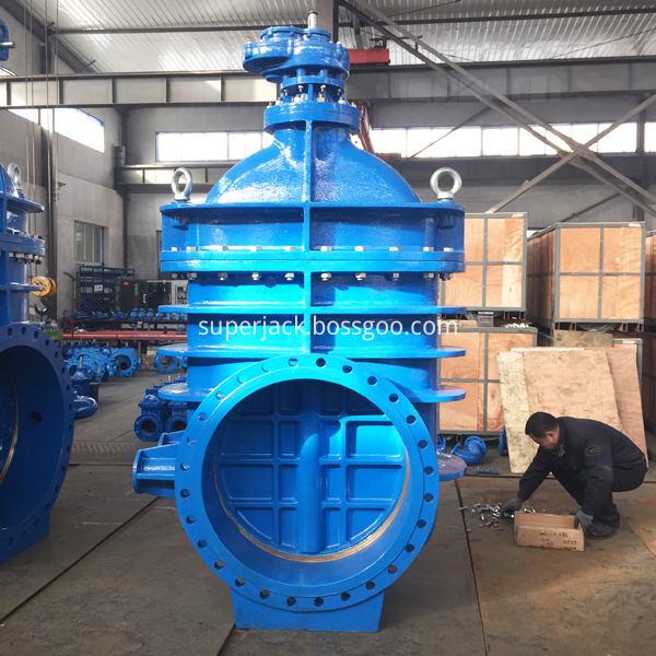 Spur Gear Metal Seat Gate Valve