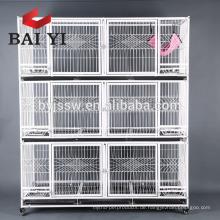 2 Tiers & 3 Tiers faltender Katzen-Käfig von der realen Fabrik