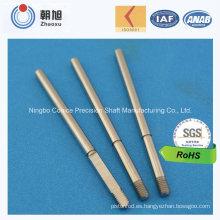 Eje de la flecha del carbono de la precisión que trabaja a máquina del CNC del proveedor de China