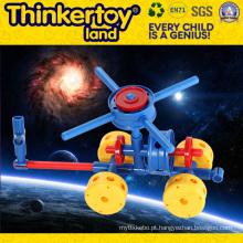 Brinquedos DIY para cultivar a criatividade infantil Blocos de construção plástica