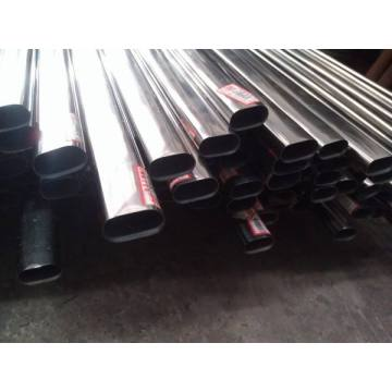 stainless steel flat oval tube