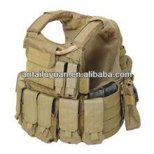 Equipo de protección personal tejido aramida táctico de chaleco.