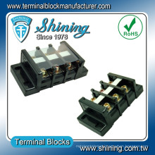 TB-060 Shining Panel Mounted 600V 60A Copper Busbar Cable Connector