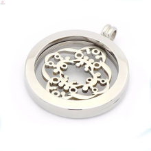 Pingente medalhão barato moeda de prata, moeda pingentes para colares