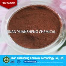 Lignina sódica como agente de bronceado para la industria del cuero
