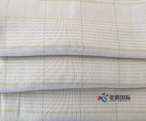 Plaid Cotton Yarn Dyed Fabric For Clothing