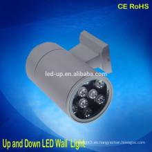 Precio agradable hasta abajo luz llevada IP65 lámpara de pared al aire libre impermeable llevada