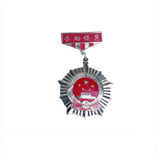 China fabricação profissional impressão das nações unidas 25mm crachá