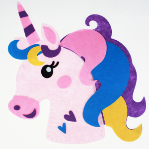 DIY felt unicorn craft kit