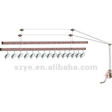 Ceiling mounted balcony clothes drying rack clothes dryer