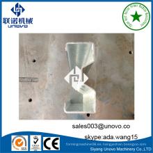 Perfil de acero laminado en forma de sigma