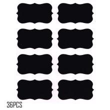 Autocollant tableau noir tableau noir étiquette amovible