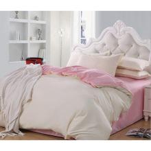 Новая коллекция Кровать Современная кровать Bed Plain White Hotel / Главная Комплект постельного белья (WS-2016276)