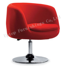 Red Fabric Cup Shape Rotary Salon Leisure Chair (SP-HC199)