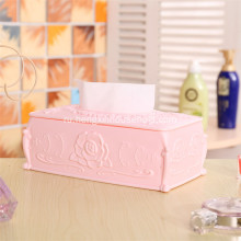 Creative Hotel KTV Paper Storage Box With Rose Flower