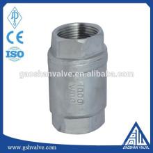 stainless steel 304 threaded vertical check valve