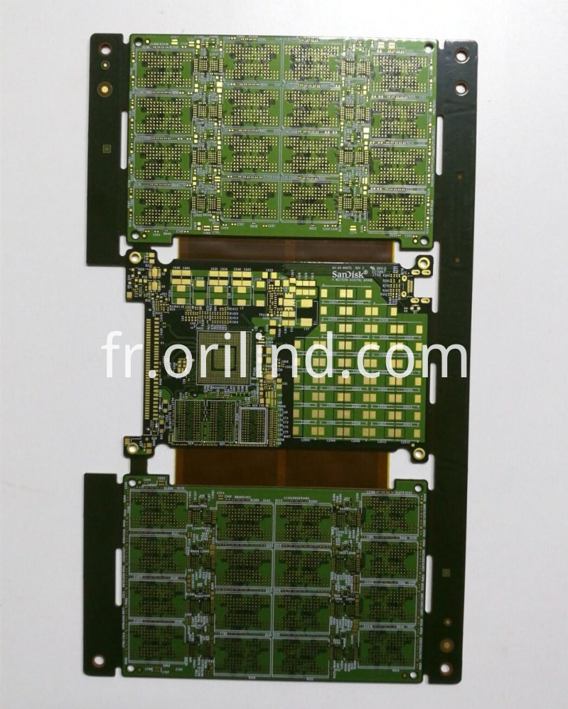 Multilayer R-F circuit board