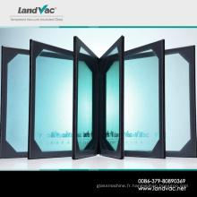 Verre à vide plat Landvac Safey pour les fenêtres de la maison