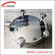 Round Sanitary Stainless Steel Tank Manhole Cover