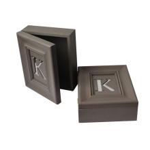 Nouvelle boîte en MDF avec miroir à lettre