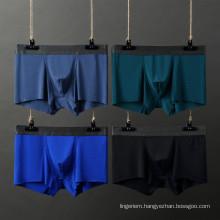 wholesale stripe modal cotton men boxer briefs panty four corner underwear