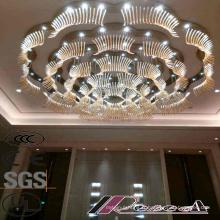 Bonne qualité Lustres décoratifs modernes de projet d'hôtel