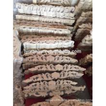 неокрашенные резные деревянные накладки