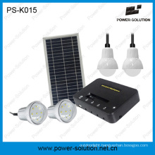 Rechargeable 5200mAh Lithium Solar Lighting System and Phone Charging Solution for Home