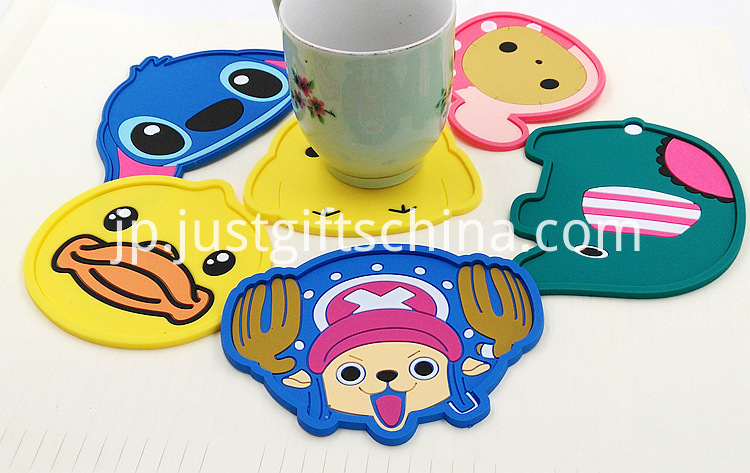 Promotional Cartoon Coasters